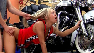 Sabrina fucking some lucky biker