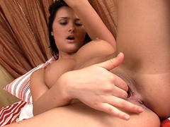 Sexy Tan Babe Masturbation Series