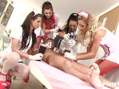 Female Domination with Nurses