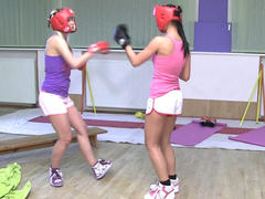Femdom Sparring Match