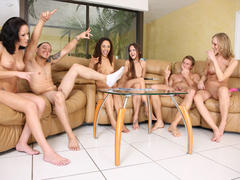 amateur getting group sex on party