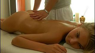 Hot massage for a true hottie